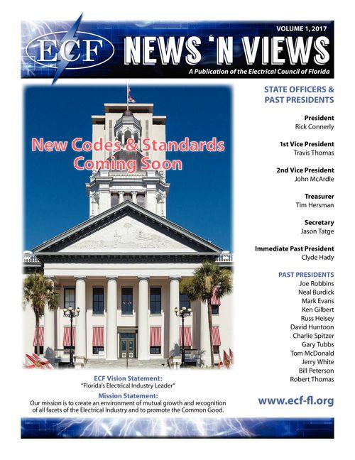 ECF Newsletter Volume 1 2017