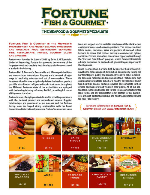 FoodService Catalog 2016