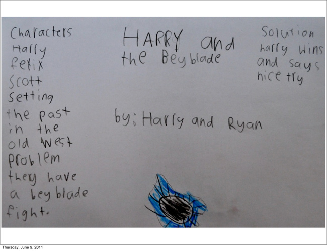 Harry and the Beyblades by Ryan and Harry