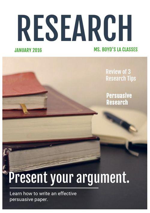 Persuasive Argument Presentation