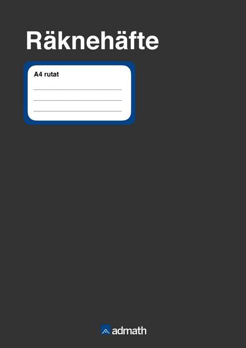 Admath räknehäfte digitalt exemplar