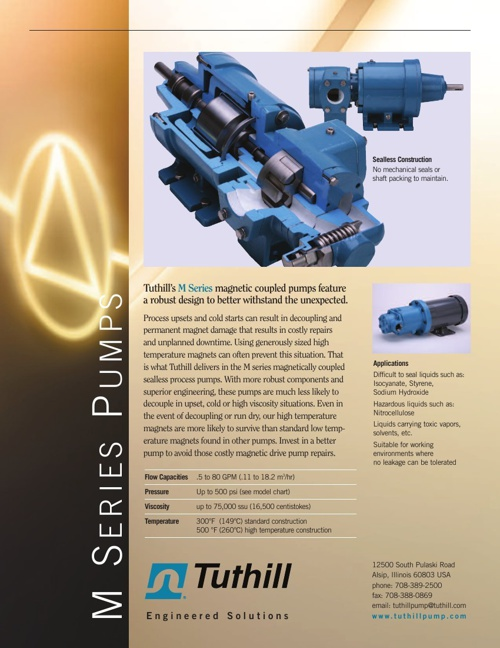 Tuthill M Series Pumps