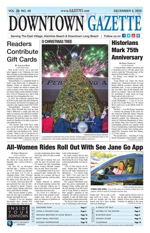 Downtown Gazette  |  December 2, 2016