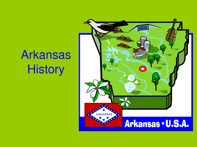 Chapter 1 Arkansas History