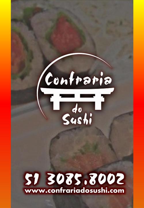 CARDÁPIO CONFRARIA DO SUSHI
