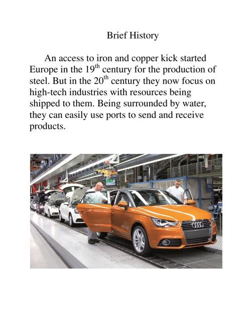 European Manufacturing Zones
