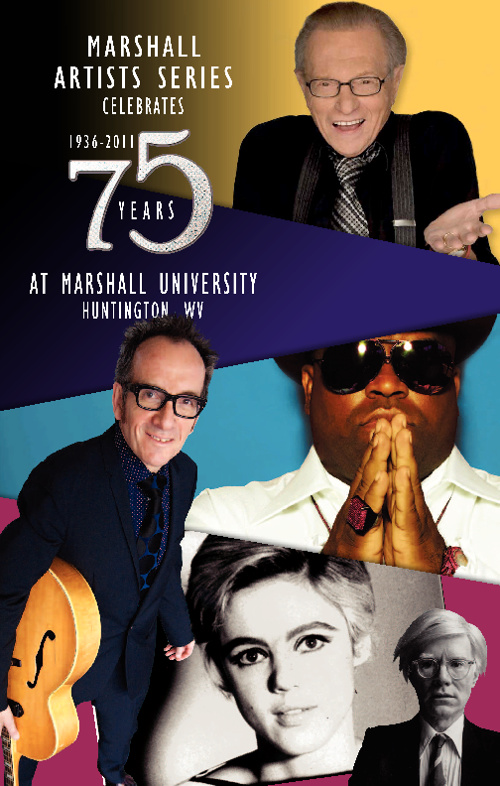 Marshall Artists Series 75th Season Brochure
