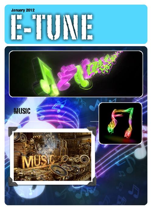 eTUNE: a music magazine for teens