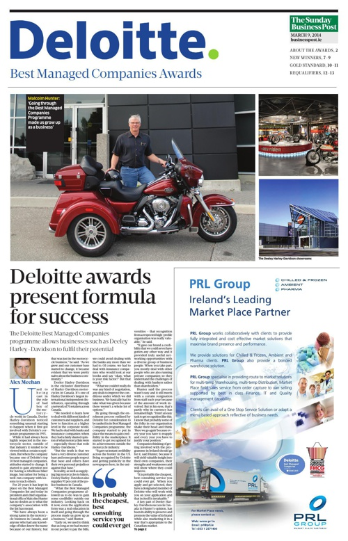Deloitte 9th March 2014