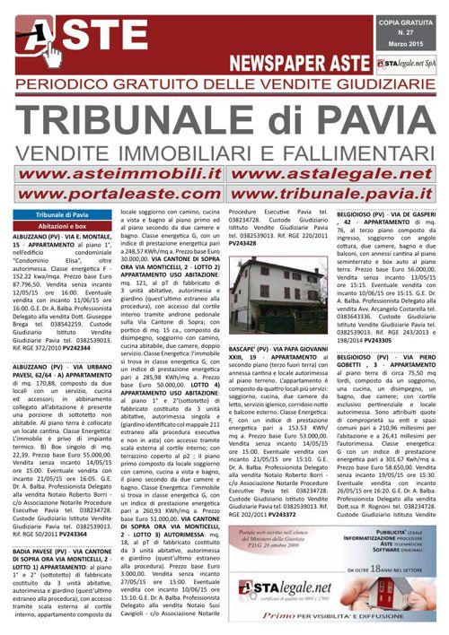Pavia marzo 2015