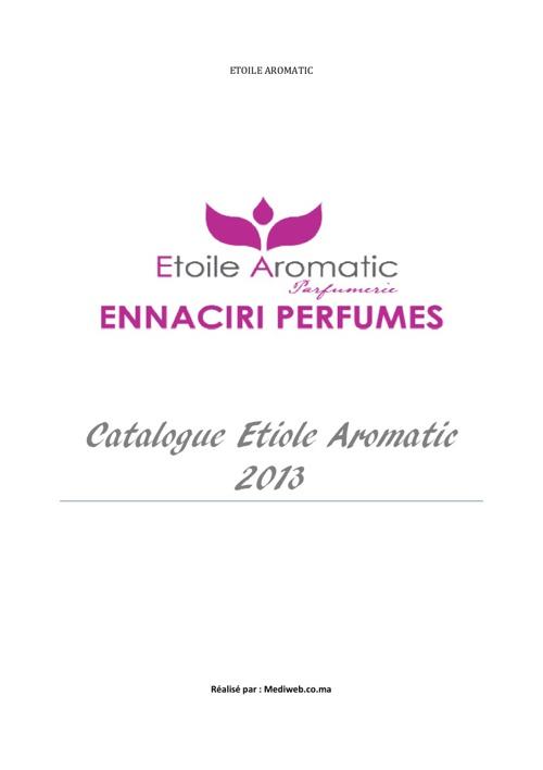 Catalogue EtoileAromatic-2013