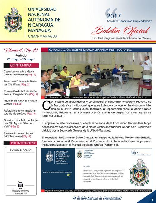 Boletín Oficial (Vol4. Núm.10)
