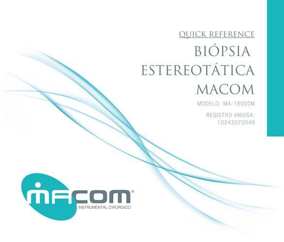 Macom - Biópsia Estereotática - Quick Reference