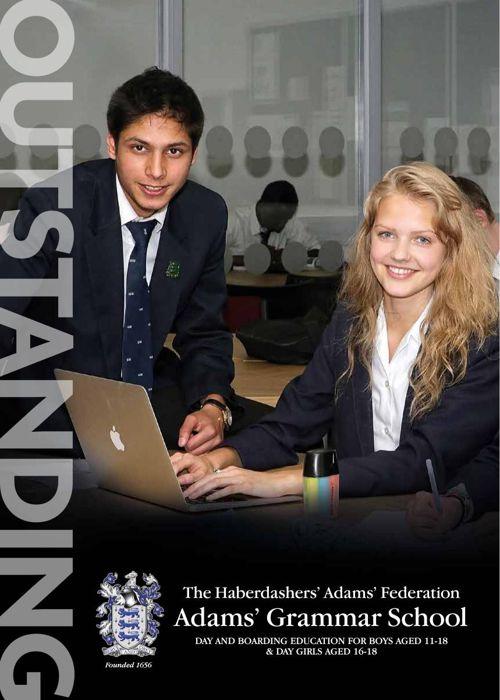 Adams' Grammar Sixth From Prospectus