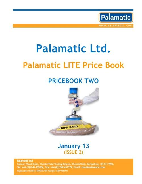 Palamatic Lite Pricebook 2012
