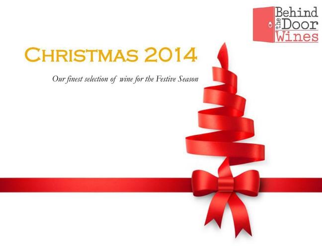 Behind The Door Wines Christmas Brochure