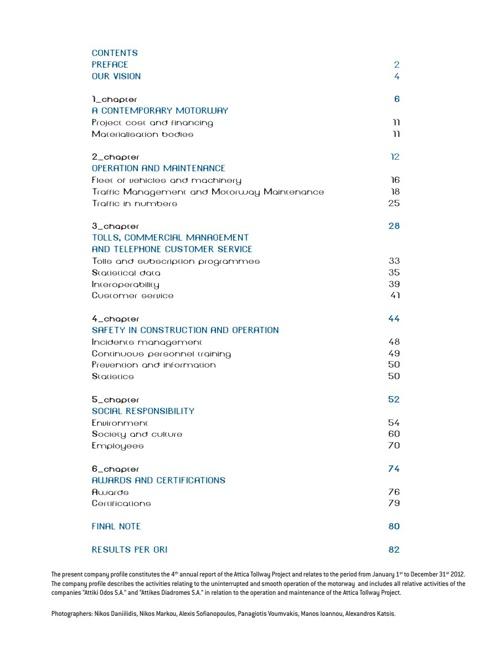 Attica Tollway - Company Profile
