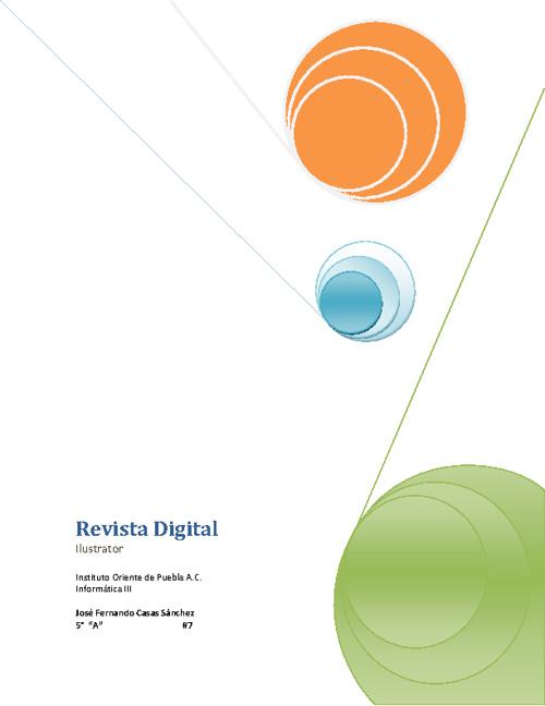 Revista Digital - Ilustrator