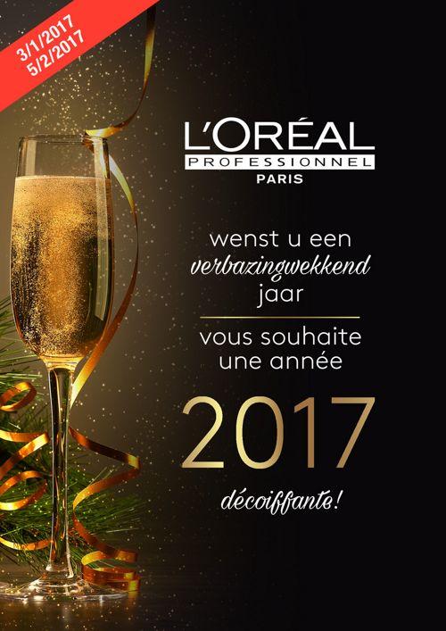 L'Oréal Professionnel - Avis de passage janvier 2017