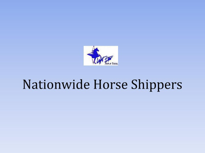 Nationwide Horse Shippers
