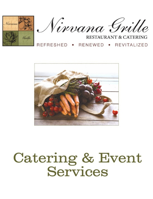 Catering Book