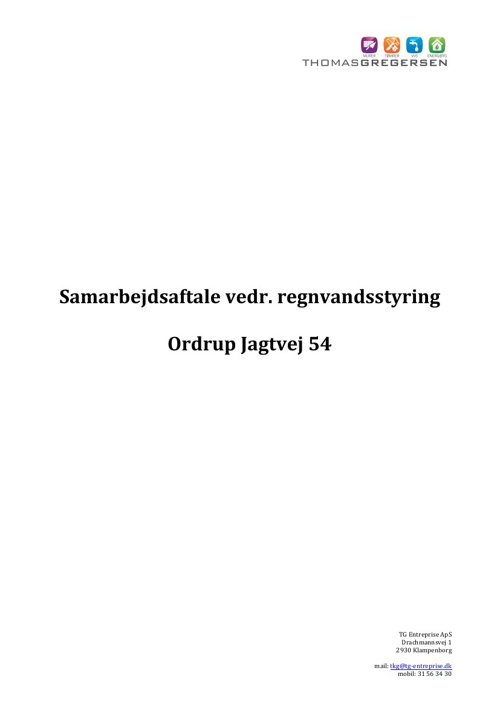 Ordrup Jagtvej 54 - samarbejdsaftale