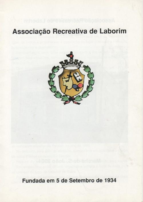 HISTÓRIA DA ASSOCIAÇÃO RECREATIVA DE LABORIM