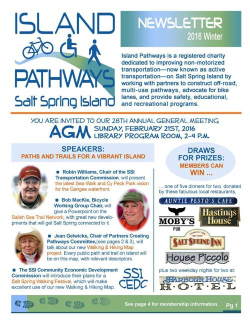 Island Pathways 2016 Winter Newsletter
