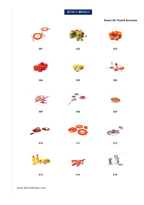 12_DOSCH 3D - FoodGroceries