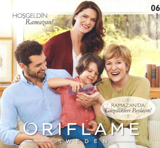 Oriflame Haziran 2016 Kataloğu