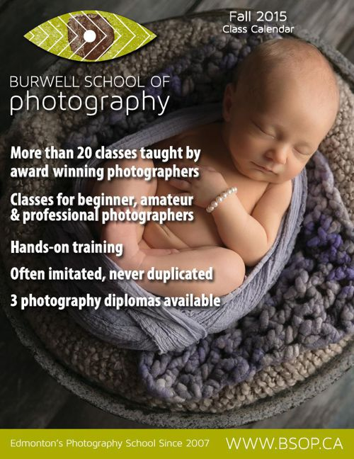Fall 2015 Burwell School of Photography Class Calendar
