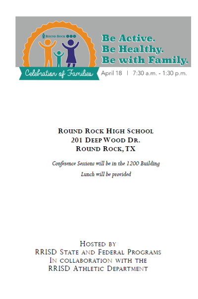 Celebration of Families Program 2015