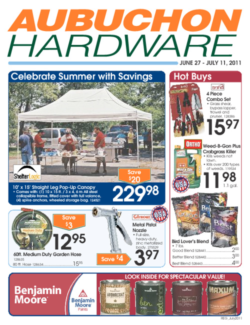 July Sales Flyer 2011
