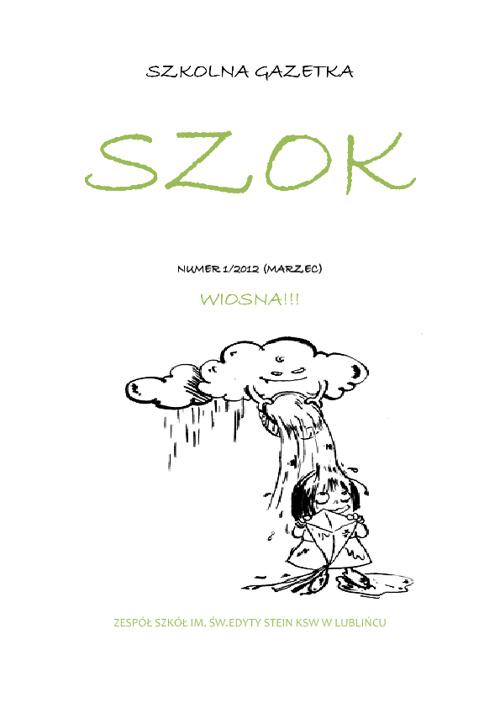 Gazetka Szkolna: SZKOK: 1/2012