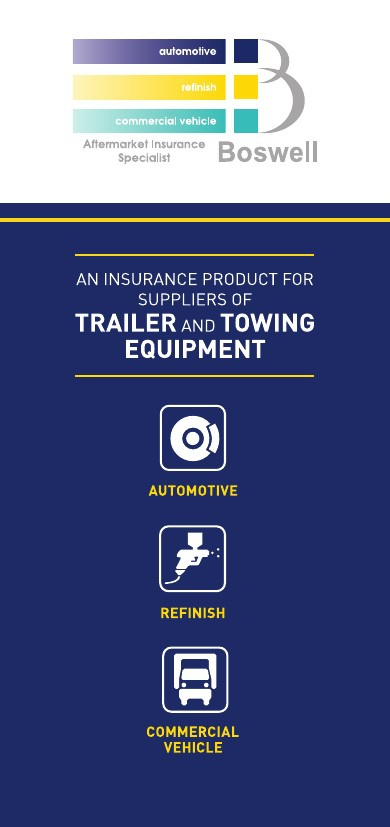 Trailer and Towing Insurance Leaflet