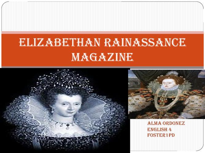 elizabethian magazine