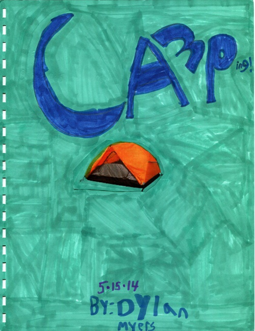 Non Fiction Text Features - Camping