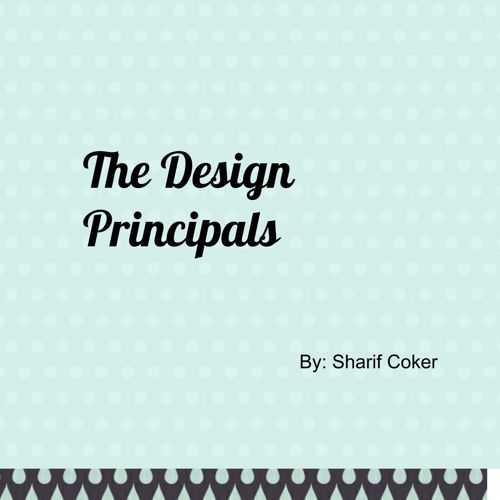 The Design Principals
