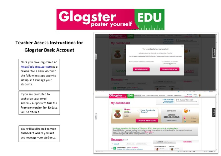 Glogster for Teachers