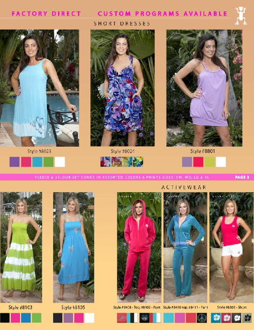 Wholesale Ladies Aparel for Summer 2012