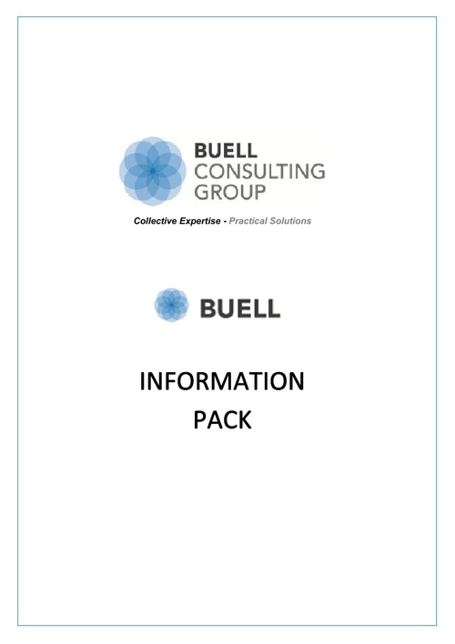 Buell Consulting Group Information Pack
