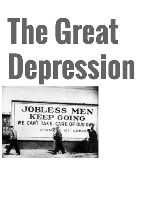 Part 1 of Great Depression Project