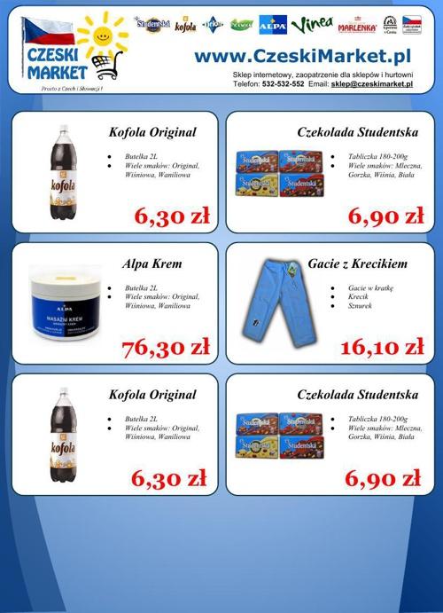 Gazetka reklamowa - Czeski Market