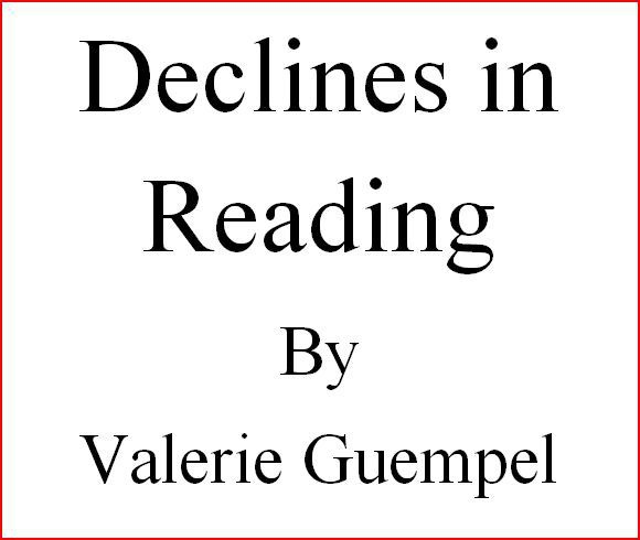 Declines in Reading in America