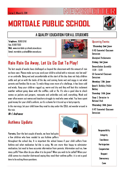 MPS Term 2 Week 6 Newsletter