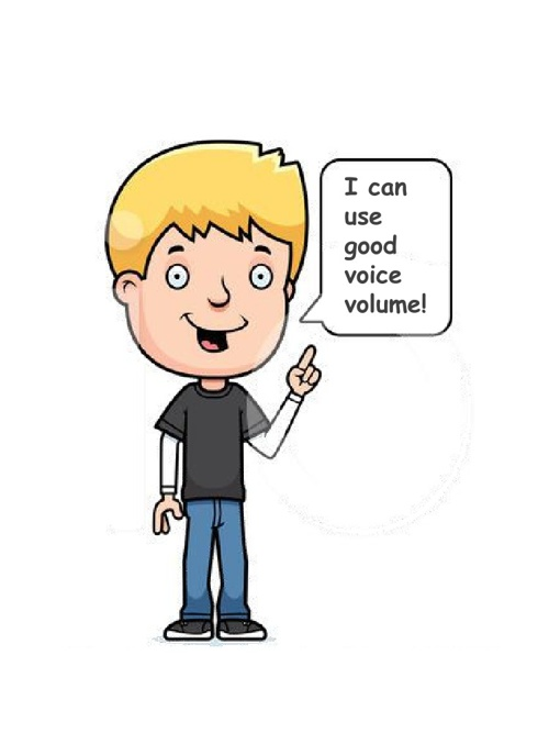I can use good voice volume