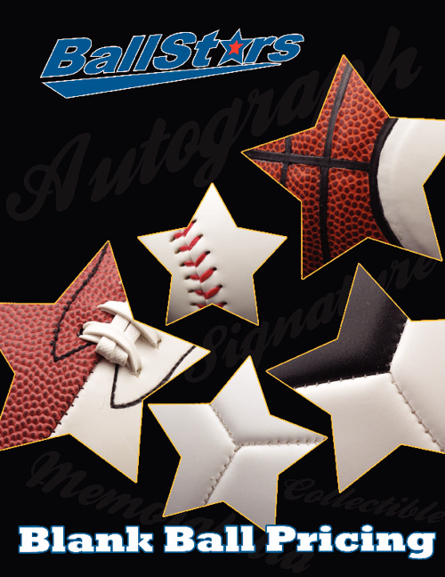 BallStars Blank Ball Pricing