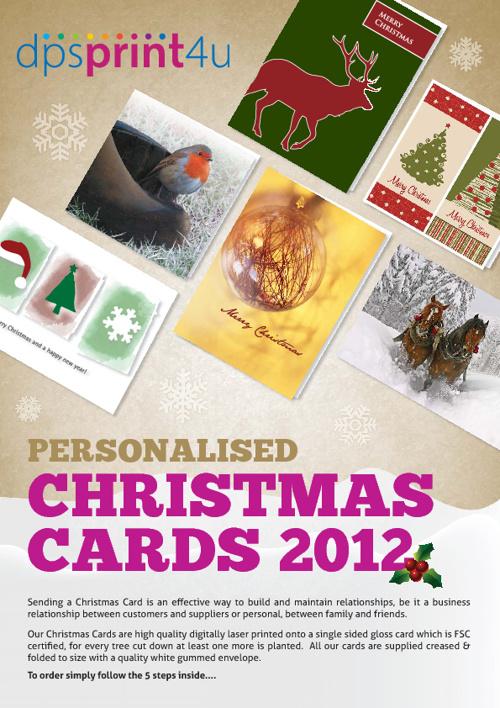 DPS Xmas Card Catalogue 2012
