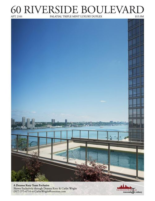 60 Riverside Boulevard, Apartment 2101