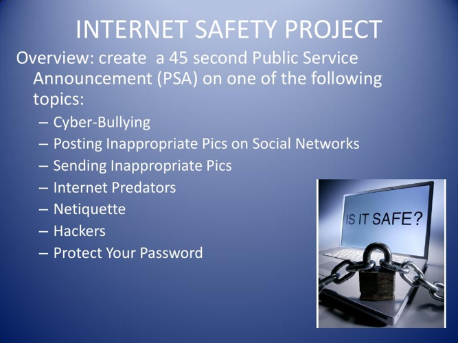 Internet Safety Project